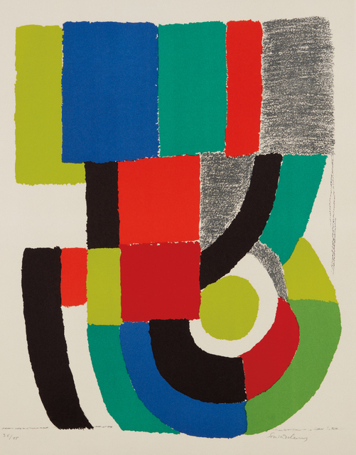Sonia Delaunay, 'New York II', 1973, Phillips