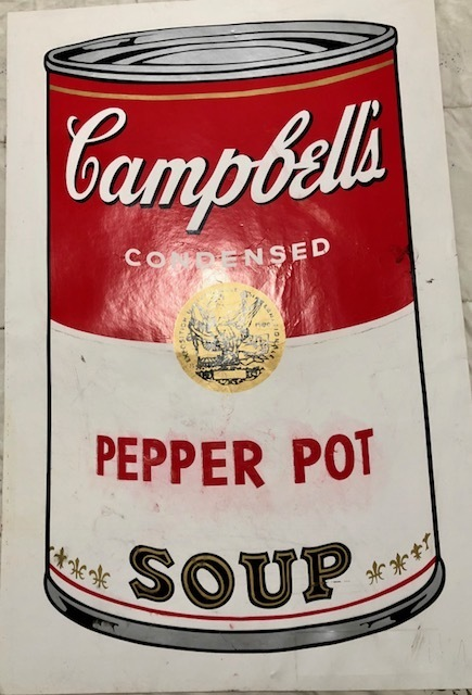 Andy Warhol, 'The pepper pot soup', 1968, Dope! Gallery
