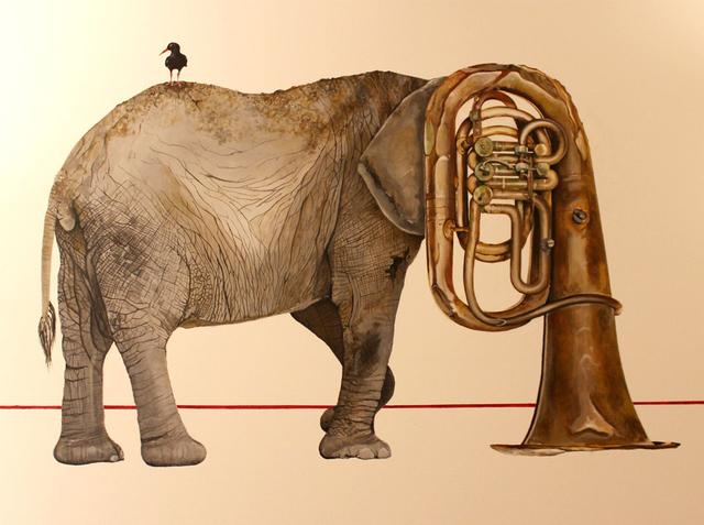 , 'Tubafante,' 2015, Kreislerart