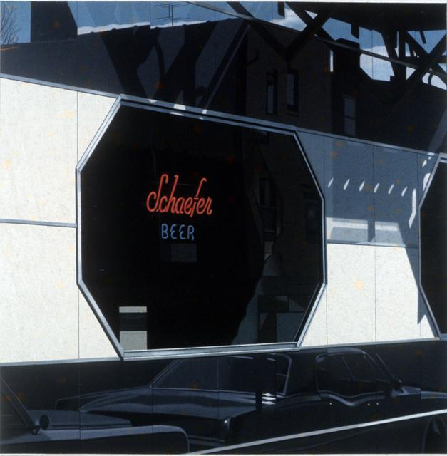 , 'Schafer Beer,' 1976, Louis K. Meisel Gallery