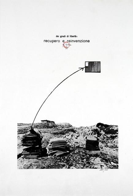 Ugo La Pietra, 'Dai gradi di libertà, recupero e reinvenzione', 1975, Finarte