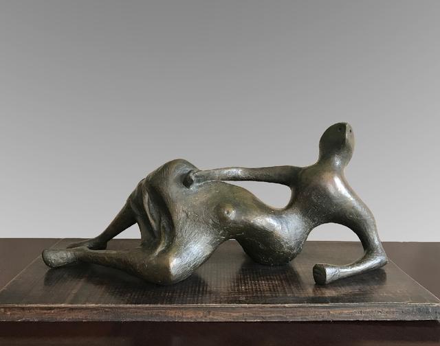 , 'Draped Reclining Figure,' 1957, Osborne Samuel