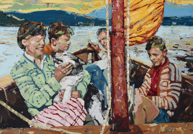 Tor-Arne Moen, 'Sunday At The Fiord', 2019, RJD Gallery