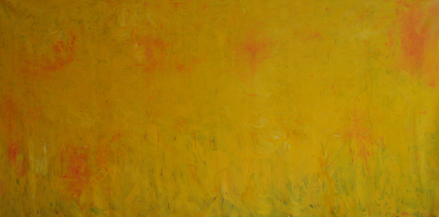 MD Tokon, 'Untitled Yellow', 2018, Painting, Acrylic on Canvas, Isabella Garrucho Fine Art
