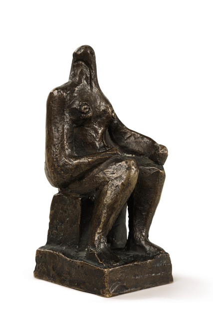 , 'Small Seated Figure,' 1936, Connaught Brown