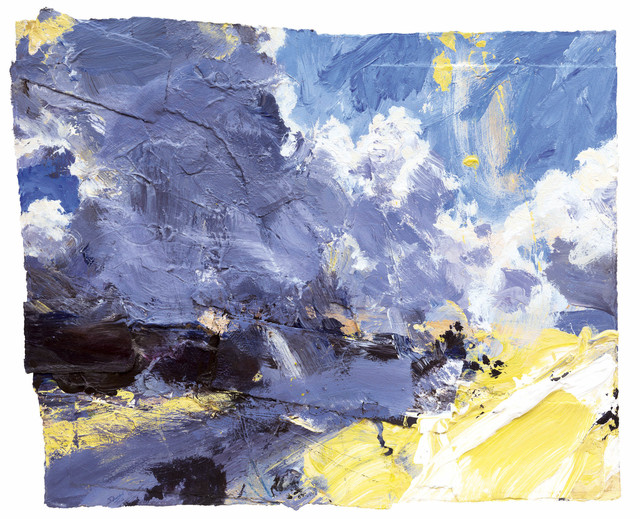 , 'Clouds Climbing, Early Sun (Dartmoor) ,' 2016, Messum's