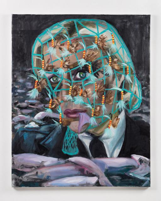Dawn Mellor, 'Detective Superintendent Stella Gibson (Gillian Anderson)', 2016, Team Gallery