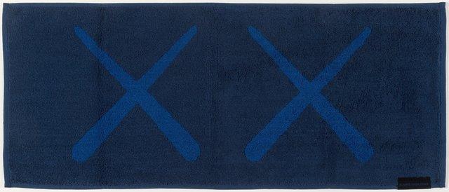 Kaws x AllRightsReserved, 'KAWS Holiday Towel (Navy)', 2018, Heritage Auctions