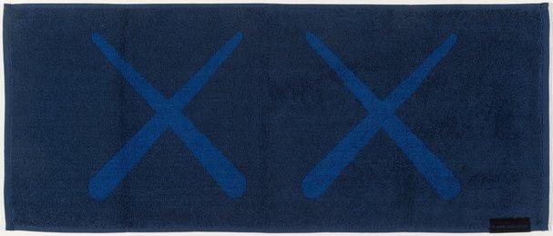 KAWS Holiday Towel (Navy)