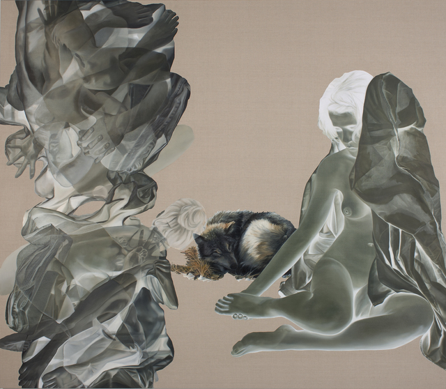 John Young Zerunge 杨子荣, 'The Wolf Feeds The Crowd ', 2012, ARC ONE Gallery