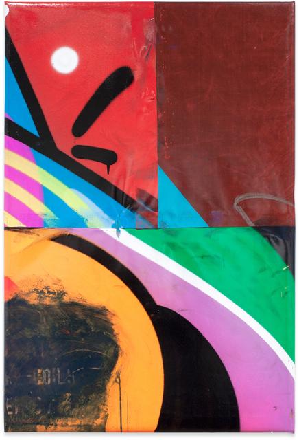Moses & Taps™, 'FLICKWERKTM XVIII', 2020, Painting, Spray Paint on PVC (freight wagon tarpaulin), KOLLY GALLERY