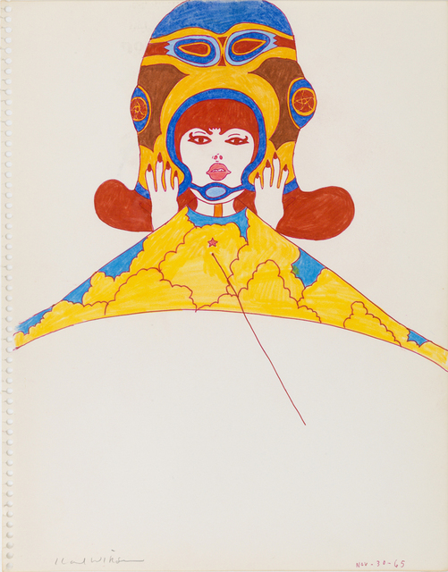 , 'Untitled (Study for Kite Series),' 1965, Derek Eller Gallery