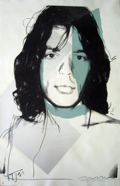 , 'Mick Jagger,' 1975, Galerie Kronsbein