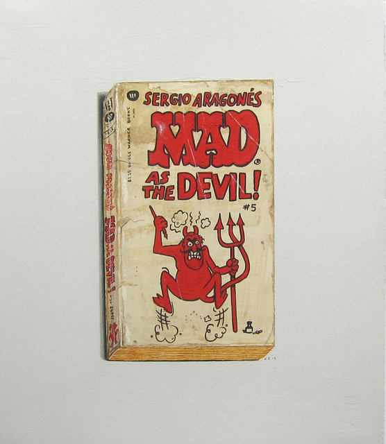 , 'MAD as the Devil!,' 2015, Albert Merola Gallery