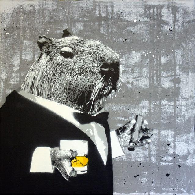 , 'Observator,' 2015, Black Book Gallery