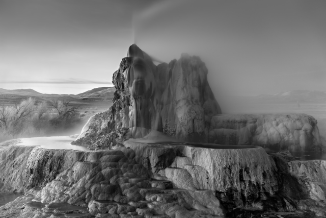 Mitch Dobrowner | Fly Geyser (2018) | Available for Sale | Artsy