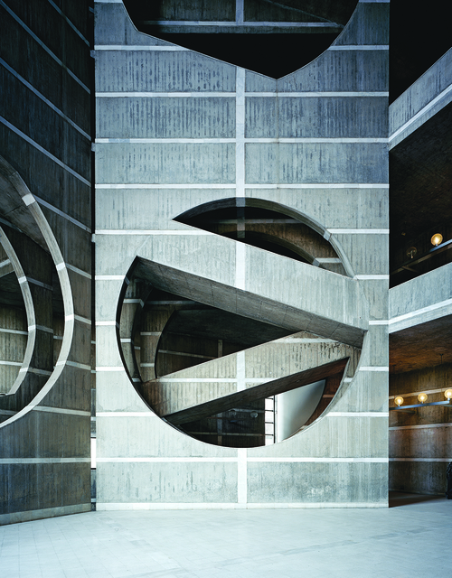 , 'National Assembly Building,' 1962-1973, Bellevue Arts Museum