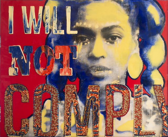 , 'COMPLY (Borg Feminism),' 2017, Coagula Curatorial