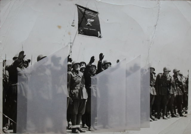 , 'L` angolo del saluto,' 2007, Galerie Michaela Stock