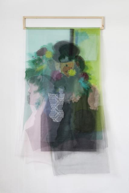 , 'Pablo detrás de las flores,' 2017, PIEDRAS