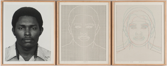 , 'Faces, Set #4: Stephan W. Walls,' 1978, Hammer Museum