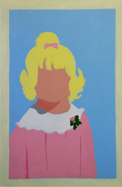 Terri Lloyd, 'Post Strabismal Smile', 2020, Painting, Acrylic on canvas, Dab Art