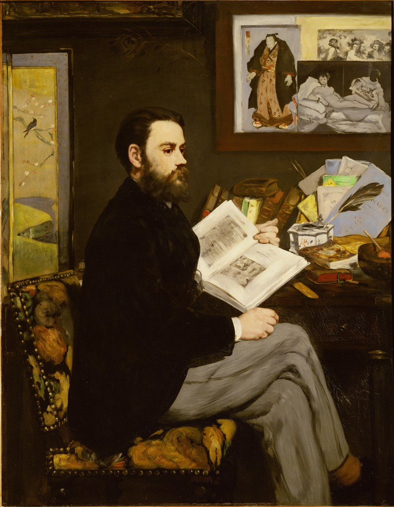 Édouard Manet, 'Emile Zola,' 1867-1868, Erich Lessing Culture and Fine Arts Archive