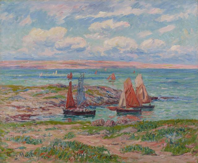 , 'Baie d'Audierne, Finistère,' 1910, Stoppenbach & Delestre