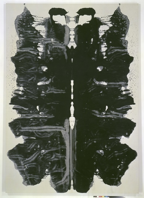 , 'Rorschach,' 1984, Seattle Art Museum