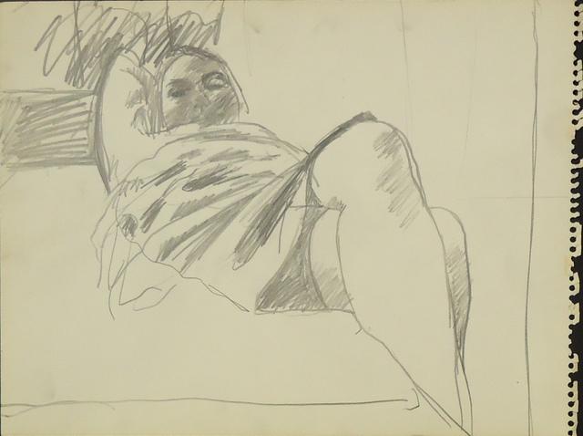 , 'Woman with Crossed Legs,' ca. 1964, Cerulean Arts