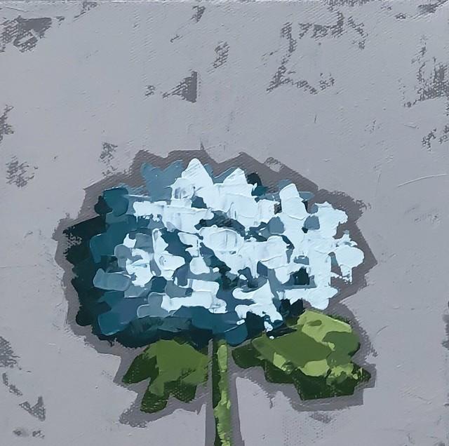 Christie Younger, 'Little Blue Hydrangea No. 2', 2019, Shain Gallery