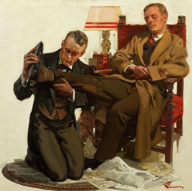 Elbert McGran Jackson, 'A Tired Gentleman', The Illustrated Gallery