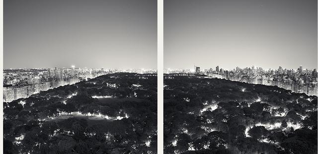Josef Hoflehner, 'Central Park Nights (Diptych) NYC 2011', Mouche Gallery