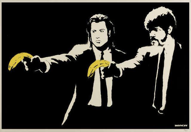 Banksy, 'Pulp Fiction', 2004, Hidden