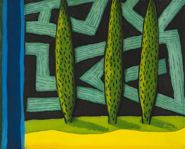 William Crozier, 'Labyrinth', 2007, Flowers