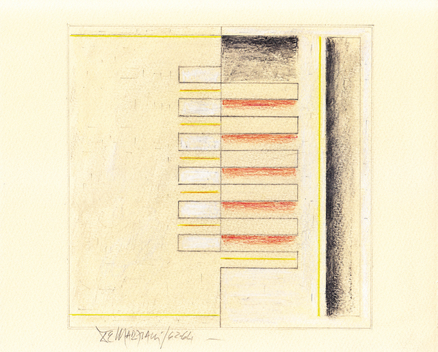 , 'Planos 102,' 1962, Galería del Paseo