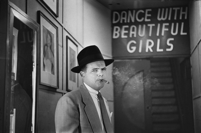 , 'Social Dance Hall on Broadway,' 1949, CAMERA WORK