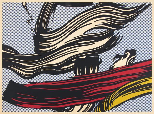 Roy Lichtenstein, 'Brushstrokes', 1967, Van Ham