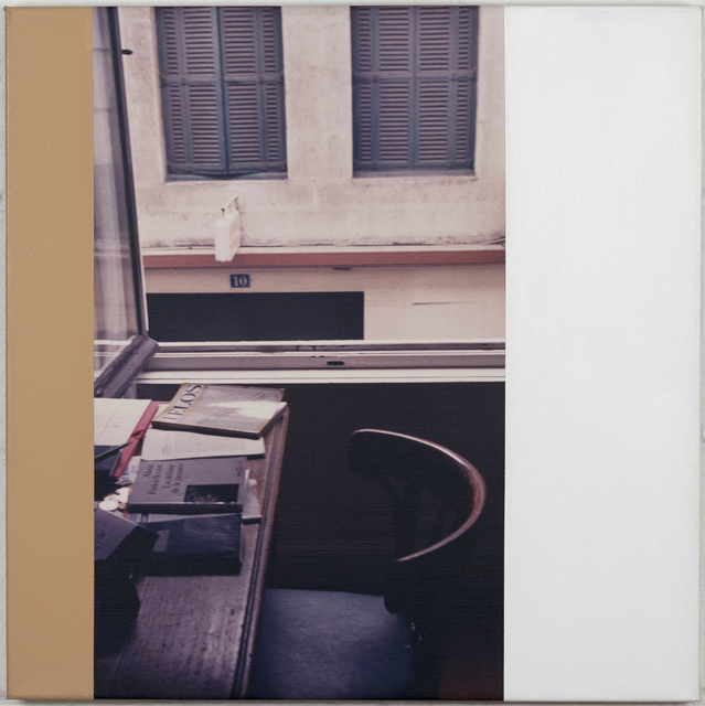 Ian Wallace, 'Hotel Cheval Noir, Saint-Etienne', 1990, Caviar20