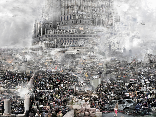 , 'BABEL TOWER, Ran 乱,' 2010, RED ZONE ARTS