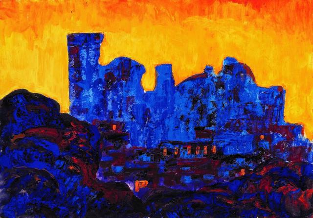 , 'Sunset in Samarkand,' 1960, Vail International Gallery