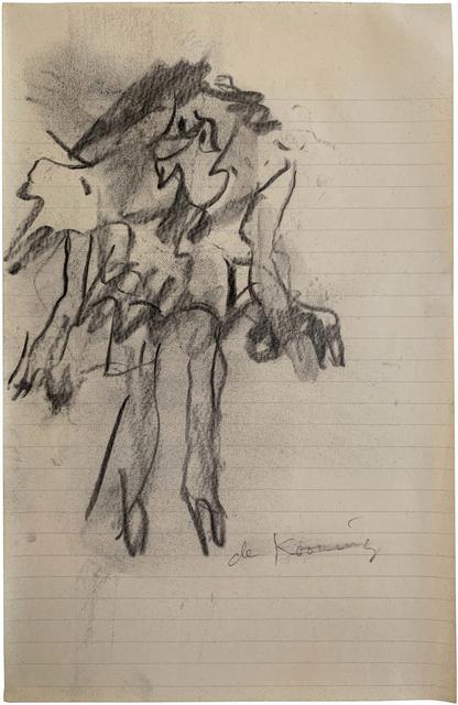 Willem de Kooning, 'Standing Woman', 1965-1967, Mark Borghi