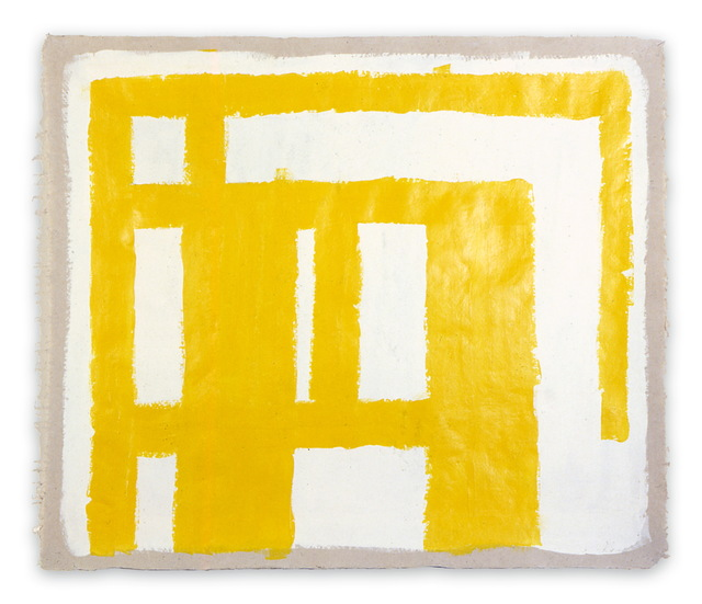 Dana Gordon, 'Line to structure 8 (Abstract painting)', 1977, IdeelArt
