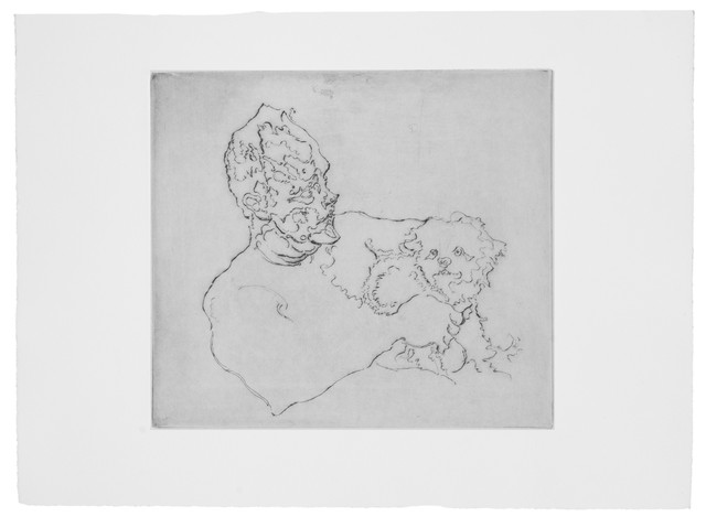, 'Thomas and Puppy,' 2013, Rén Space
