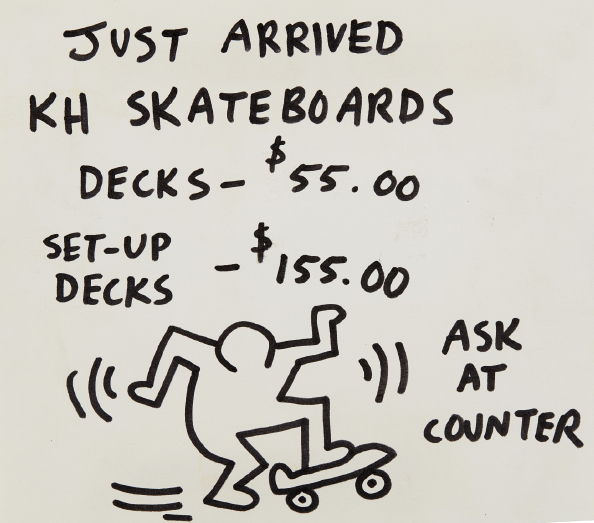 , 'Pop Shop Signage (Skateboards),' 1986-1990, TOTAH