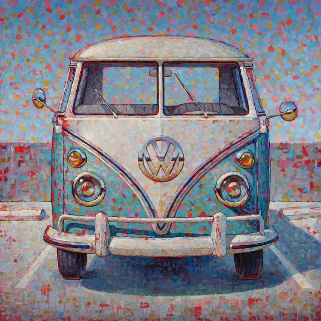 , 'VW Bus,' 2018, George Billis Gallery