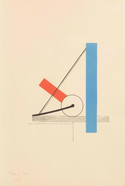 Florence Henri, 'Composition abstraite', 1923, Print, Colored lithography, Cambi