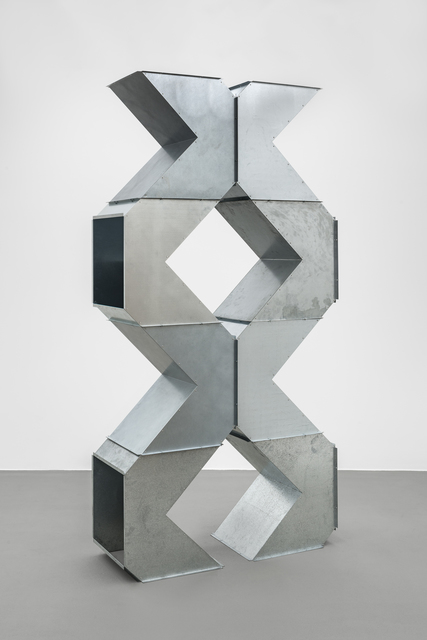 Charlotte Posenenske, 'Square Tubes Series D T-piece (ramification)', Galerie Mehdi Chouakri