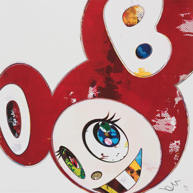 Takashi Murakami, 'And Then RED The Superflat Method', 2013, Galerie Raphael