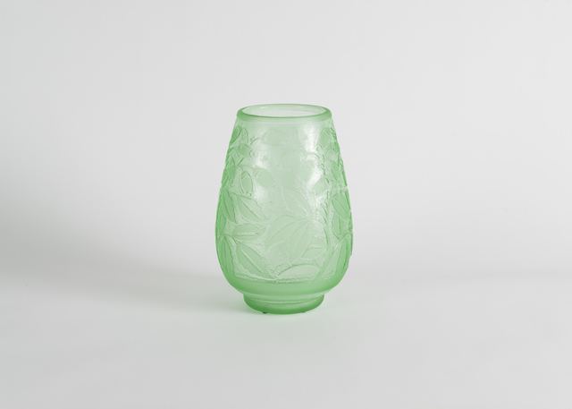 , 'Incised Art Deco Vase,' Early 20th Century, Maison Gerard